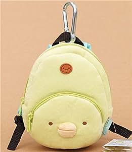 Sac à dos en peluche avec le pingouin vert Sumikkogurashi par San-X