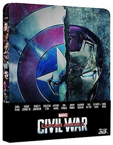 Captain America Film - captain america - civil war (steelbook) (blu-ray