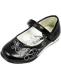 Ballerina filles pour les fêtes de mariage et en différentes tailles 22-27 chaussures Party Enfants