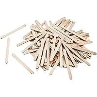 Bringmann 2291 - Palos de helado de madera, 500 unidades, color natural