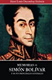 Memorias de Simon Bolivar y de sus principales generales (Spanish Edition) by Henri Louis Ducoudray Holstein (2011-01-12)