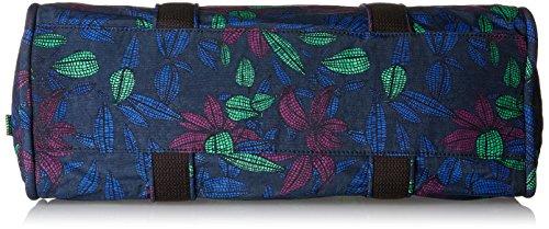 Kipling - Bex, Borse a secchiello Donna Multicolore (Orchid Garden)
