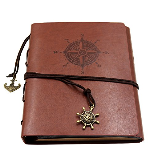 Farway Leather Diy Photo Album With Gift Box Vintage Anniversary