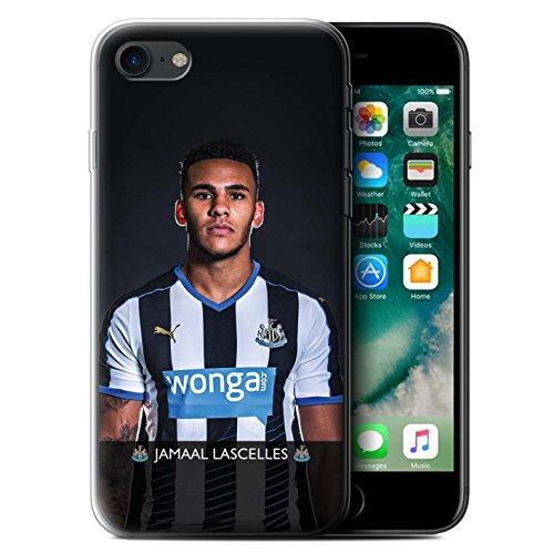 Officiel Newcastle United FC Coque / Etui Gel TPU pour Apple iPhone 7 / Wijnaldum Design / NUFC Joueur Football 15/16 Collection Lascelles