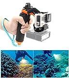 Pistolenauslöser-Set, GoPro Floaty 3 + Unterwasser-Selfie-Stab mit Auslöse-Verschlusssystem....