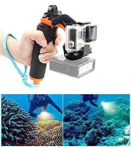 Kit pistolet déclencheur de Y&M(TM) pour nouvelle GoPro Floaty 3+, avec perche à selfie sous-marine avec obturateur, parfait pour la plongée avec tuba