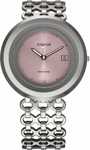 Jowissa Women's 'Cyclon' Quartz Stainless Steel Casual Watch, Color:Silver-Toned (Model: J6.005.L)
