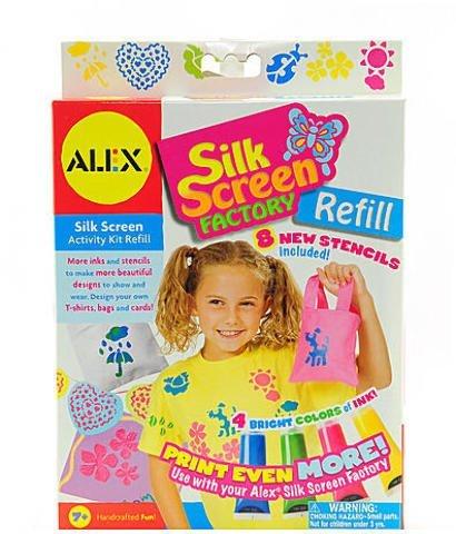Refill Alex Toys (Alex Toys Silkscreen Factory (Refill Kit) 1 pcs sku# 1830288MA by ALEX Toys)