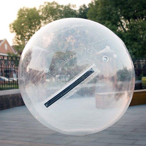 Anhon 2M Durchmesser Wasser Walking Ball Roll Ball Zorb Ball Walker Ball Aufblasbare PVC AU (Transparent)