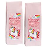 matches21 Einhorn Tee Set 2 Stk. GLITZERFRUCHT
