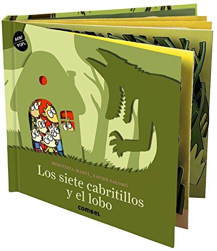 Los siete cabritillos y el lobo (Mini Pops) por Meritxell Martí Orriols