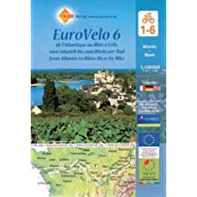 Eurovelo 6 de l'Atlantique au Rhin à vélo : 1/100 000