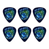 Lady Dragon Slayer Motorrad Biker Neuheit Gitarre Plektrum Plektron Picks Stärke Medium–Set of 6