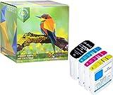 Ink Hero 4-Stück Tintenpatronen Preimum HP Officejet Pro 940 940XL C2N93AE C4902AE C4906AE C4907AE C4908AE C4909AE 8000 8500A 8500 (A809 A909a A909g A909n) druckerpatronen patronen