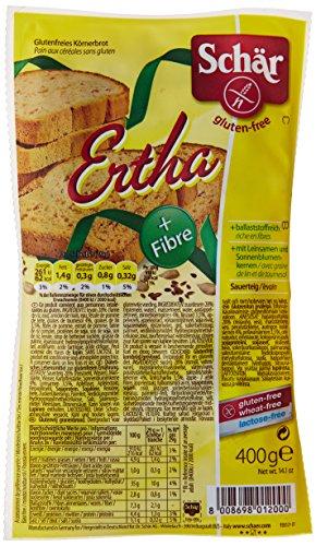 Schar Pain au levain et graines sans Gluten Ertha 400 g