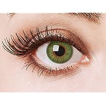 74b3c56661 Lentes de contacto coloreadas Green Fire de Aricona – que cubren las lentes  años para los