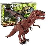 Calli Infrarot Fernbedienung Dinosaurier elektrische Simulation RC Spielzeug für Kinder