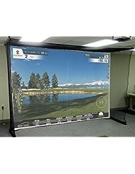 Impact Screen–Frappe Feste Toile Simulateur de golf