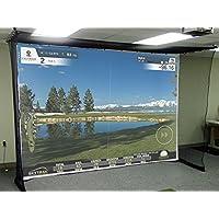 Lona para simulador de golf = Impact sreen
