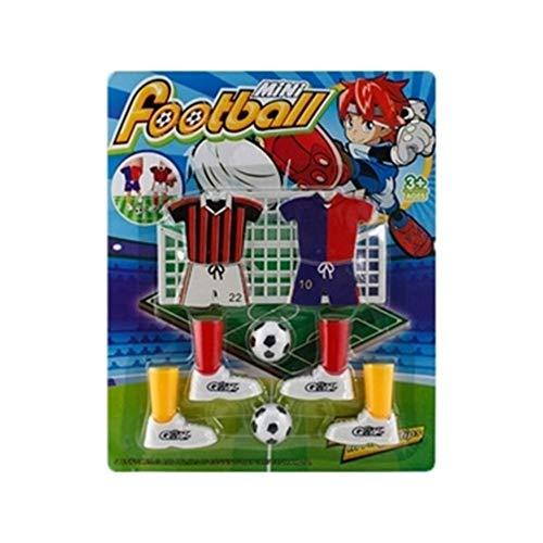 DEtasyXworld Mini Fußballspiel Finger Toy Football Match lustiges Tischspiel mit Zwei Zielen