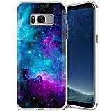 ZUSLAB Galaxy S8 Hülle, Himmel Muster Flexible Weich TPU Silikon Schutz Handy-Hülle Tasche Schutzhülle für Samsung Galaxy S8 [Violett Himmel]