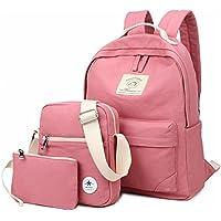 BLOOMSTAR Casual tela scuola zaino Bookbag spalla Laptop Bag 3