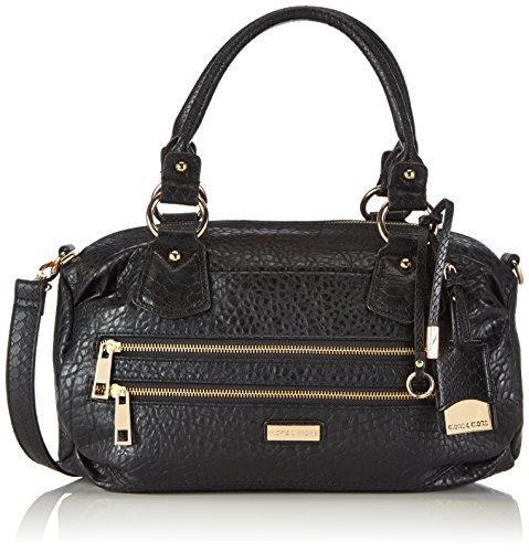 More & More Damen Rose Bowling Bag Bowlingtaschen, schwarz 9000), 39x24x25 cm