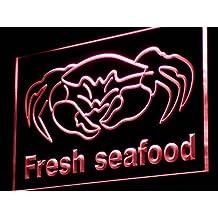 PEMA Lichtfluter i826-r Fresh Seafood Neon Light sign Barlicht Lichtwerbung Neonlicht