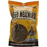 Unipet Usa Llc UNIWB125 Unipet 500g secs Mealworms Supersize