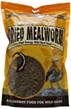 Unipet Usa Llc UNIWB125 Unipet 500g secs Mealworms Supersize