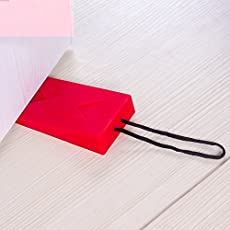 Gooseberry Silicone Envelope Style Door Stopper (Multicolour, sp265)