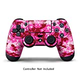 PS4 controller Skin Designer per Sony PlayStation 4 DualShock Wireless Controller - Digicamo Pink