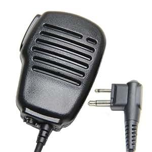 étanche Micro Haut-Parleur Déporté Microphone Pour 2-jack Motorola Talkie Walkie CP040 CP200 XTNi DTR VL50