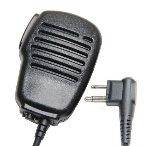 Impermeable MICRO ALTAVOZ DE MANO Funcion Micr  fono Y Auricular Para 2-pin Motorola Walkie Talkie