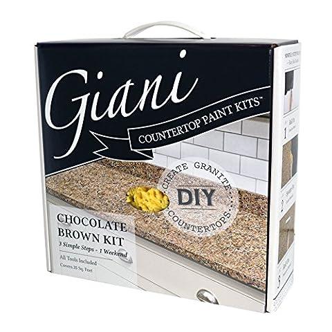Giani FG-GI CH BR KIT Countertop Paint - Chocolate Brown