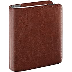 Fintie Fujifilm Instax Mini Film Album - 104 Mini Films Photos Album Livre Photo Album pour Fujifilm Instax Mini 9/8 / 90/25 / 70, Instax SP-2 SP-1, Polaroid Z2300 PIC-300P 3-inch Film, Marron