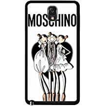 Fashionable Moschino Phone funda,Samsung Galaxy Note 3 Protective Plastic Phone funda,Moschino Cover for Samsung Galaxy Note 3