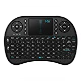 Mini Teclado Inalámbrico 2.4GHz de Rii (Diseño Español) con Touchpad, para Smart TV Android, TV BOX, PC, Mac