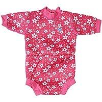 Splash About Bebés y de bebé pañal de Neopreno–Pink Blossom, Grande/6–14Meses