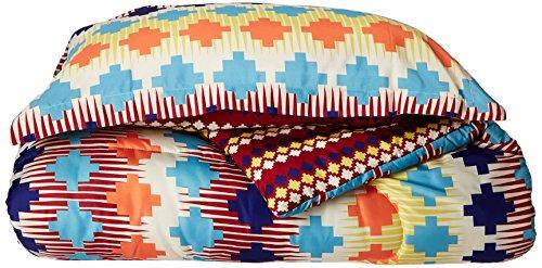 Chic Home 2Stück Sierra Navajo Southwestern Style beidseitig Bedruckt Tröster Set, Twin XL, Spice Tones -