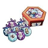 7 Weihnachtskugeln mit Disneys Eiskönigin