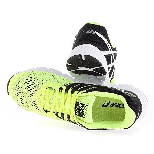 Asics Gel-Evation chaussure de running Homme jaune - noir - blanc