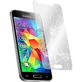 Cabling–Protección de pantalla para Samsung Galaxy S5Mini vidrio templado premium anti golpes y Cassia, anti huella digital y Gras, Max (bordes redondeados, Dureza 9H, alta definición 99%, para Samsung S5Mini 4,5pulgadas