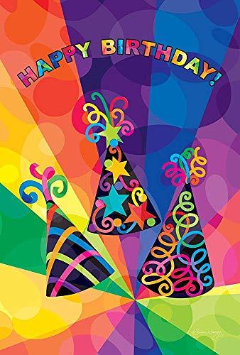 Sombreros De Cumpleaños 30 X 45 Cm Decorativo Colorido