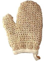 Magit Moufle tricotée en crin de cheval supérieur et doublée coton Blanc