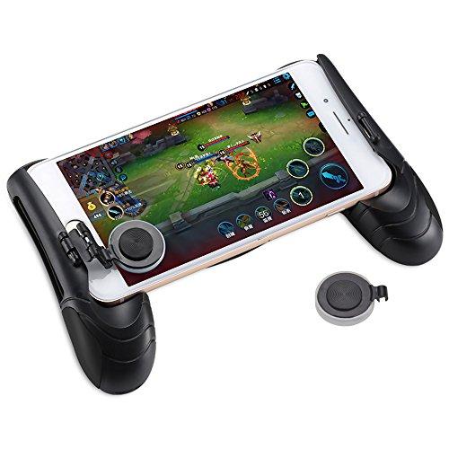 mmrm Mobile Joystick Controller Grip Case Ergonomisches Design Spiel Griff-Halter Ständer Joypad für iPhone 8Plus 7/6Plus Galaxy Note 8S8Edge 11,9cm-6.5