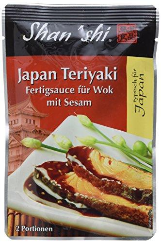 Shan'Shi Japan Teriyaki Woksauce, 6er Pack (6 x 120 g) (Datum-sauce)