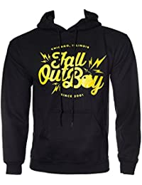 Fall Out Boy Bomb Pull-over Hoodie (Black)