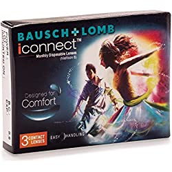 Bausch & Lomb I Connect Contact Lense - 3 Pieces (-4.0)