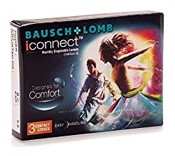 Bausch & Lomb I Connect Contact Lense - 3 Pieces (-5.0)